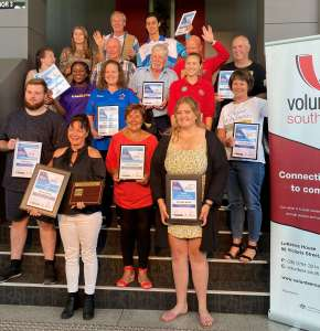 Nominees and winners of the South West Volunteer of the Year awards 2020